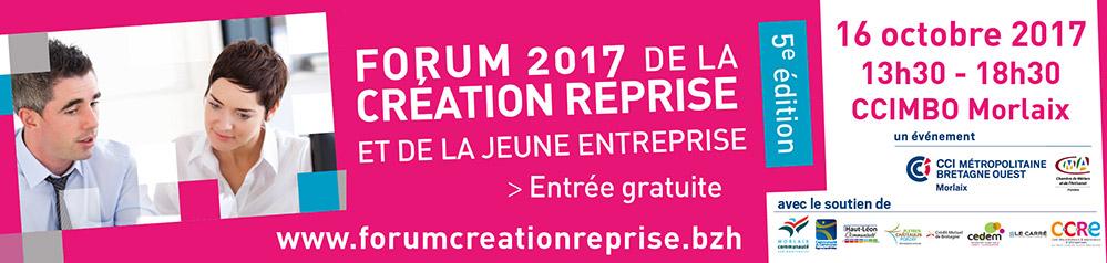 Forum Création Reprise Morlaix 2017