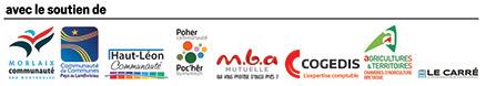 Les organismes qui soutiennent le Forum de la Création de la reprise et de la jeune entreprise Morlaix 2019