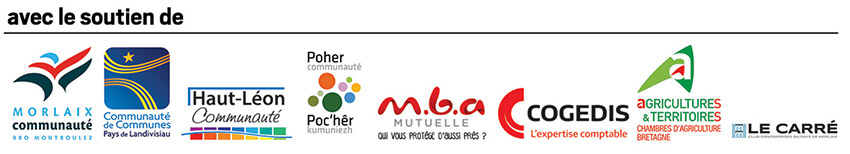 logos partenaires Forum Création reprise Morlaix